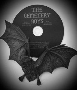 Debut Album with bat. The flying kind. Not the baseball kind.