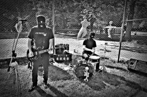 The Cemetery Boys performing at Zombie Wars.